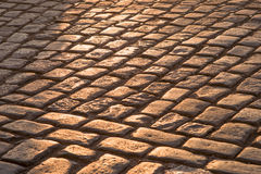 Pavement stones Royalty Free Stock Photography