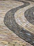 Pavement swirl Royalty Free Stock Photo