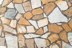 Pavement texture. Closeup image. A walking path. Stock Photos