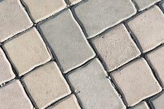 pavement texture , paving stone ,stone block, brick fotpath back Royalty Free Stock Photography