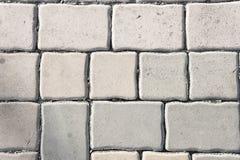 Pavement texture , paving stone ,stone block, brick fotpath back Stock Image