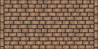 Pavement texture of regularly smooth stones 0010. Road pavement texture of natural smooth stones. Seamless tileable repeating 3D rendering texture royalty free illustration