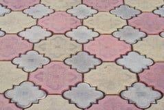 Pavement tile Royalty Free Stock Photos