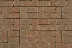 The pavement of tiles Stock Photo