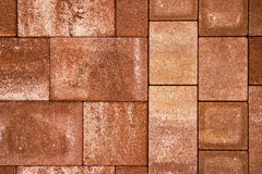 Pavement tiles Royalty Free Stock Images