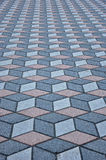 Pavement tiles Stock Image