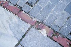 Pavement tiles Stock Photography