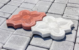 Pavement tiles Royalty Free Stock Photo