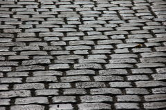 Pavement. In the town. paving stone Stock Photos