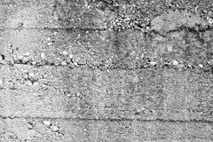 Pavement wall texture. Gray texture of a pavement wall with small stones inside Stock Photos