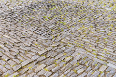 Pavement of wild grey stone Royalty Free Stock Photo