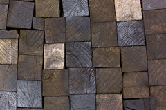 Pavement wooden texture Royalty Free Stock Image