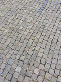 Pavements in downtown Royalty Free Stock Images