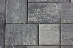 paver προτύπων πέτρα Στοκ Εικόνα