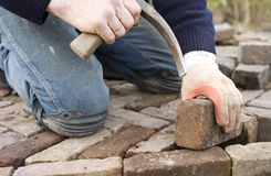 Paver Royalty Free Stock Photography
