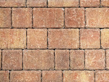 Paver brick background Royalty Free Stock Photos