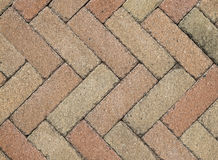 Paver brick background Stock Images