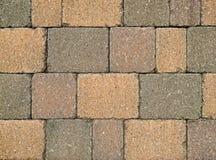Paver brick background stock photos