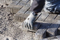 Paver Stock Photos