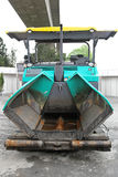 Paver finisher Stock Photos
