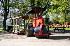 Paver at kids playground in Duthie park, Aberdeen Royalty Free Stock Image