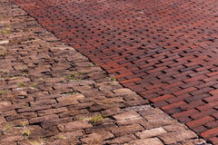 Pavers блока и кирпича гранита Стоковое фото RF