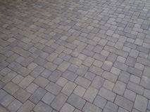 Pavers at angle Stock Image