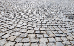 Pavers in pedestrian Royalty Free Stock Images