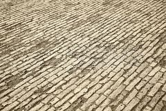 Pavers for sidewalk Royalty Free Stock Photography