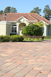 Pavers up to home. Shot of pavers up to home Stock Photography