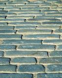 Pavestones del pavimento viejo del bloque Fotos de archivo