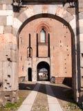 pavia Замок Visconti Стоковое Изображение