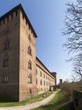 pavia Замок Visconti Стоковые Изображения