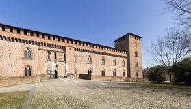 pavia Замок Visconti Стоковая Фотография