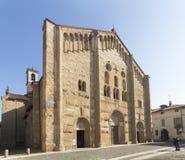 Pavia, Basilica of San Michele Maggiore. Stock Images