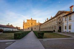 Pavia Carthusian monastery and gardens Stock Photography