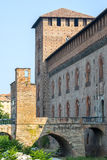 Pavia, castello immagine stock