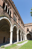 Pavia, the castle Stock Image