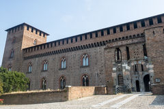 Pavia, castle Stock Photo