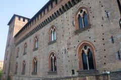 Pavia, castle Stock Image