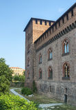 Pavia, castle Stock Images