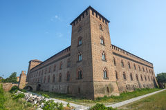 Pavia, castle Stock Photos