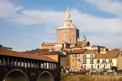 Pavia Cathedral, Italy Royalty Free Stock Images