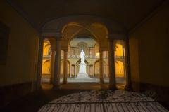 Pavia, corte dell'università immagine stock libera da diritti