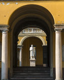 Pavia, court of the University Royalty Free Stock Photography