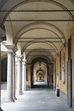 Pavia (Italië): Universiteit Royalty-vrije Stock Afbeeldingen