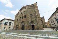 Pavia (Italien): kyrka Royaltyfri Fotografi