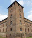 Pavia (Italy): castle Royalty Free Stock Photography