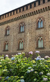 Pavia (Italy): castle Royalty Free Stock Photo