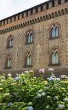 Pavia (Italy): castle Royalty Free Stock Photo